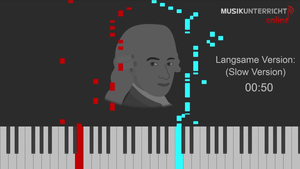 Thumbnail Menuett C-Dur Mozart