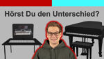 Digitales oder echtes Klavier - Hörst Du den Unterschied - Einführung und Hörproben