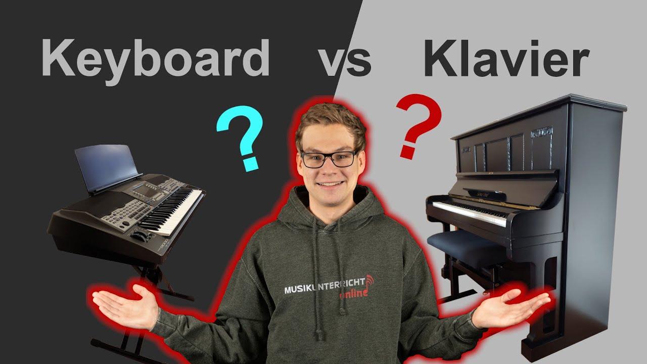 Keyboard oder Klavier - was solltest Du lernen?