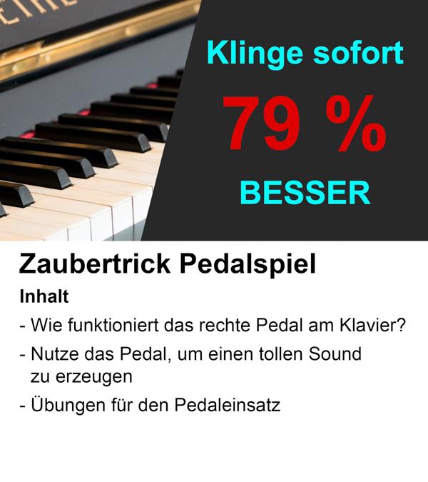 Klavier lernen in 8 Wochen? Klar geht das! Mit dem Trick der 6. Lektion klingt Dein Klavierspiel sofort viel besser.