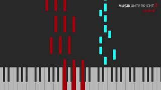 Thumbnail - Piano Leuchtasten-Tutorial: Alessandro di Lassone - Blue Sky